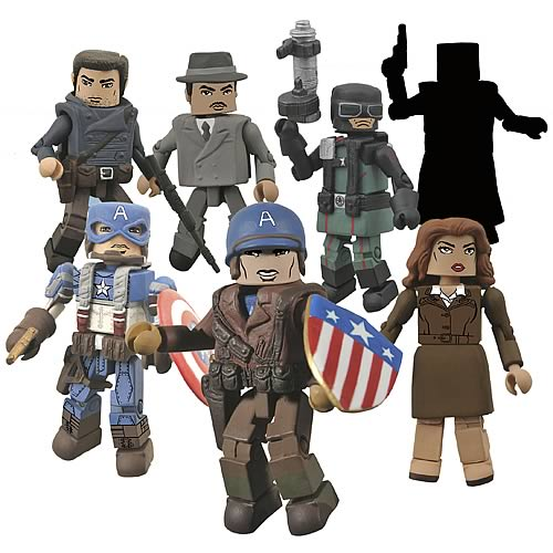 Marvel Minimates Series 40 Mini-Figures Case