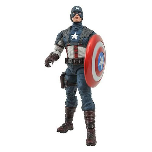 Marvel Select First Avenger Captain America Action Figure