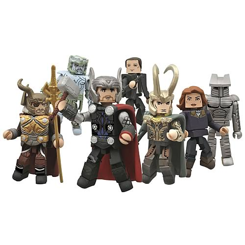 Marvel Minimates Series 39 Thor Movie Figure Case