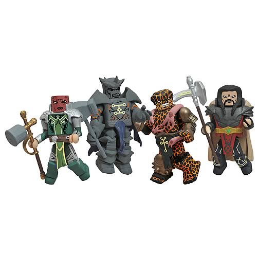 Marvel Minimates Fear Itself Worthy Box Set