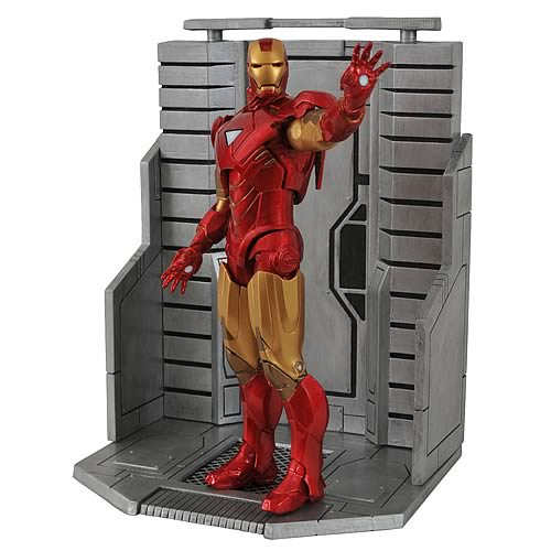 Marvel Select Avengers Movie Iron Man Mark VI Action Figure