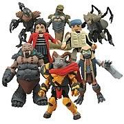 Battle Beasts Minimates Series 1 Mini-Figure 2-Pack Set
