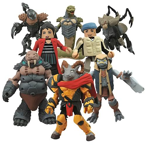 Battle Beasts Minimates Series 1 Mini-Figure 2-Pack Set