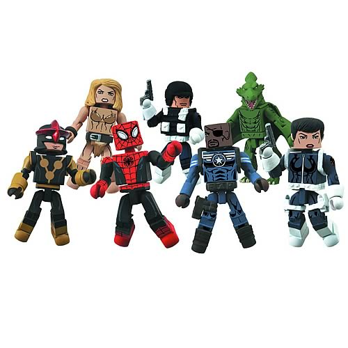Marvel Minimates Series 51 Mini-Figure Case
