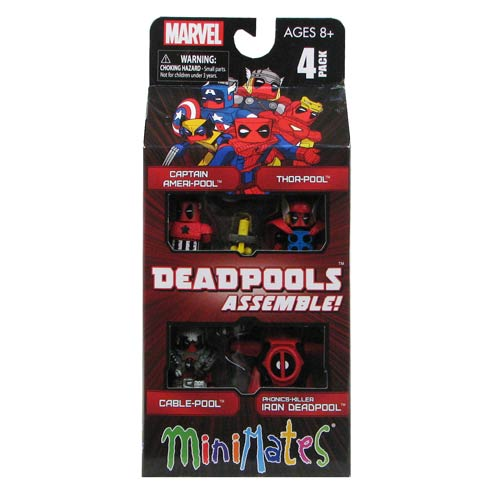 Marvel Deadpool Assemble Minimates Box Set