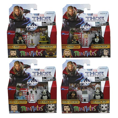 Thor 2 Dark World Marvel Minimates Series 53 Set
