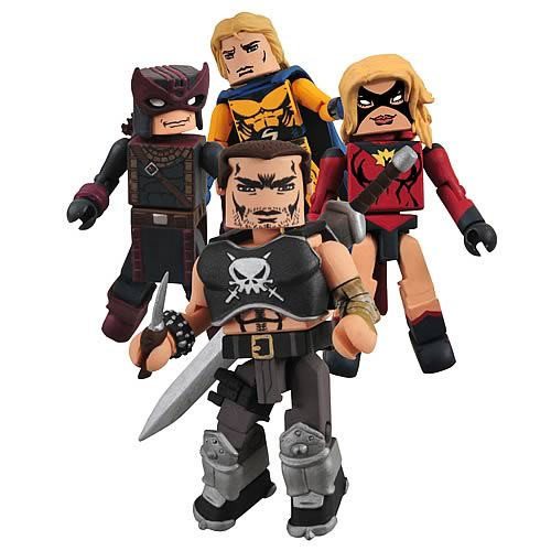 Dark Avengers SDCC 2009 Minimates Box Set #2