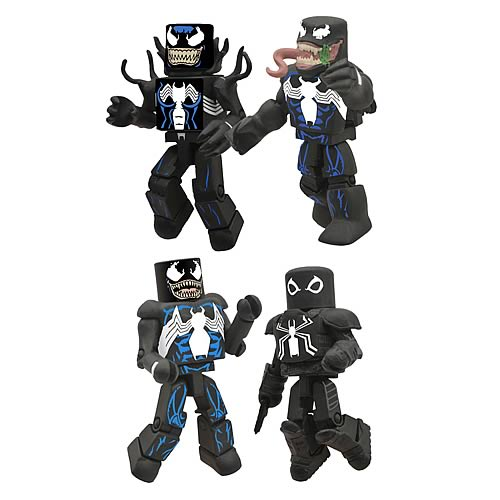 Marvel Minimates Venom Through the Ages Box Set
