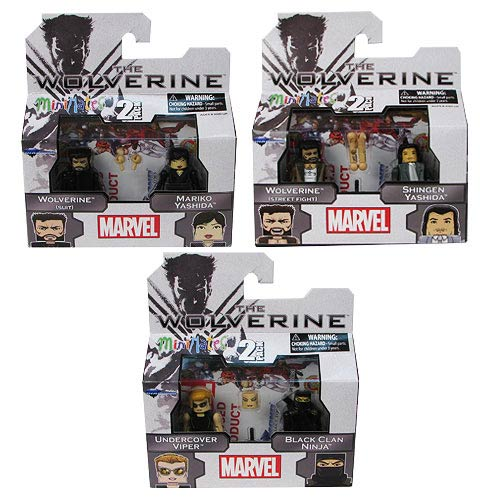 The Wolverine Marvel Minimates Series 52 Set