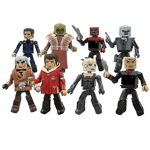 Star Trek Legacy Minimates Series 1 Set