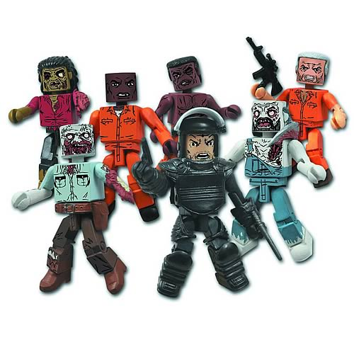 Walking Dead Minimates Series 3 Set