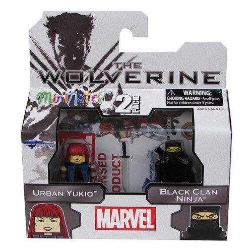 Marvel Minimates Series 52 Yukio and Hand Ninja Minimates