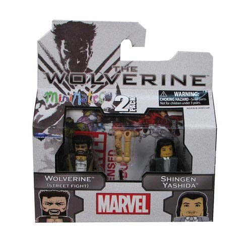 Marvel Minimates Series 52 Wolverine and Shingen Minimates