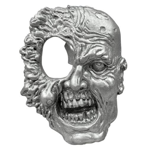 Walking Dead Hole In Head Zombie Metal Bottle Opener