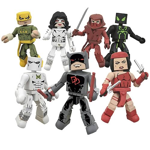 Marvel Minimates Series 38 Case
