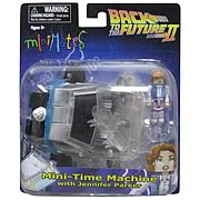 Back to the Future 2 Time Machine Minimates Vehicle