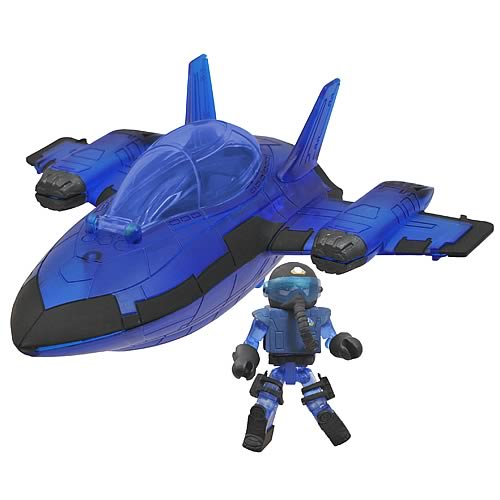 M.A.X. Stealth Jet Minimates Vehicle
