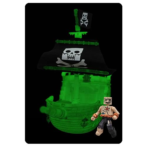 Calico Jack Minimates Pirate Ship