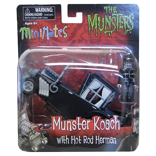 Munsters Koach Minimates Vehicle