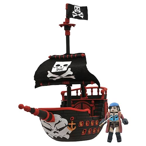 Minimates Series 3 Pirate Ship
