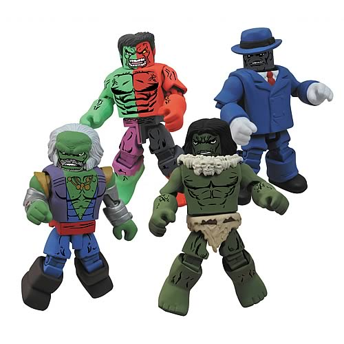 Hulk Through The Ages Marvel Minimates Box Set 4-Pack