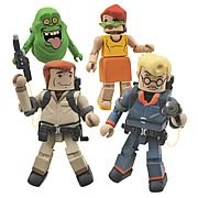Real Ghostbusters Minimates Series 1 Box Set
