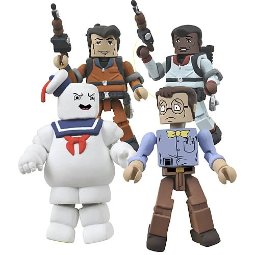 Real Ghostbusters Minimates Series 2 Box Set