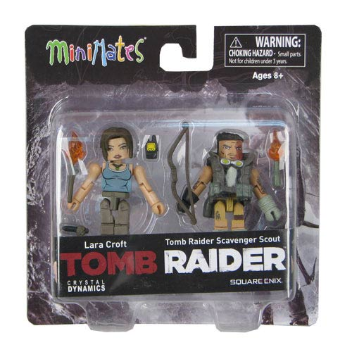 Tomb Raider Lara Croft and Scavenger Scout Minimates