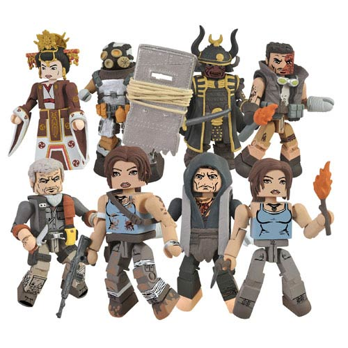 Tomb Raider Minimates Series 1 Mini-Figure 2-Pack Set
