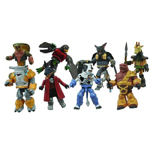 Battle Beasts Minimates Series 2 Set