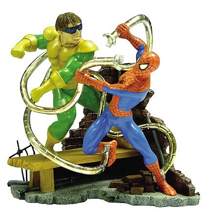 Spider-Man vs. Dr. Octopus Statue