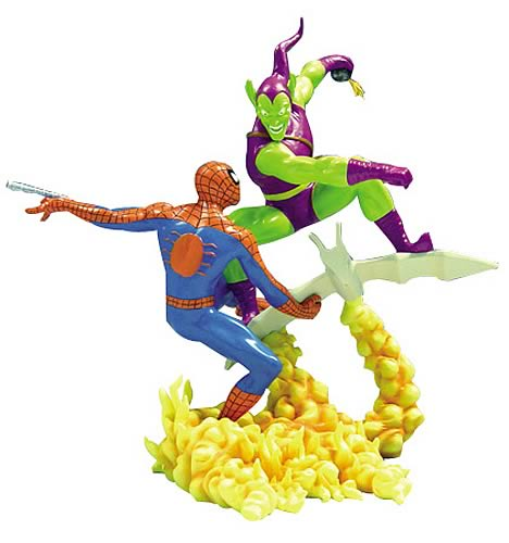 Spider-Man vs. Green Goblin Statue