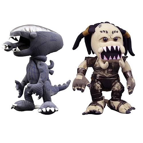 Alien vs. Predator Series 1 Two Pack Plush