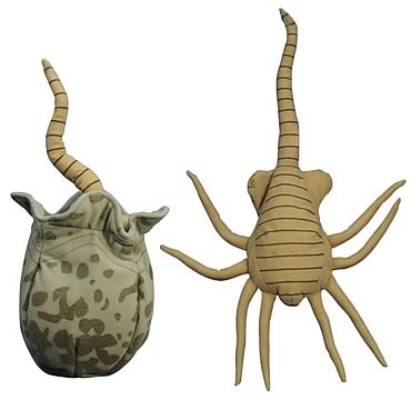 Aliens vs. Predator Face Hugger Plush