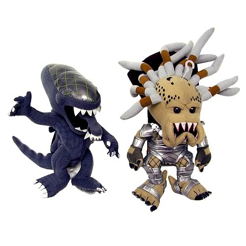 Alien vs. Predator Series 2 Plush Two Pack