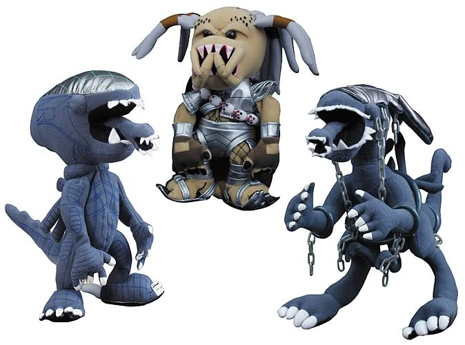 Alien vs. Predator Series 2 Plush Set