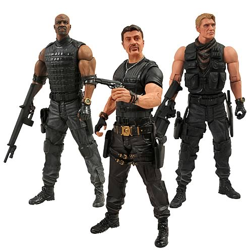 Expendables 2 Action Figure Set