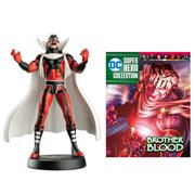 DC Superhero Best Of Brother Blood Figure with Magazine #45
