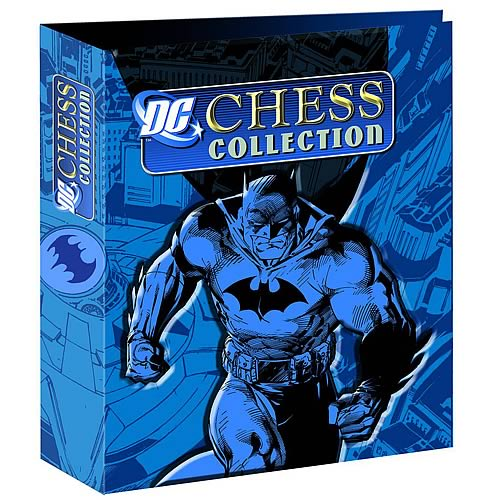 Batman Chess Piece Figure Collection Magazine Binder