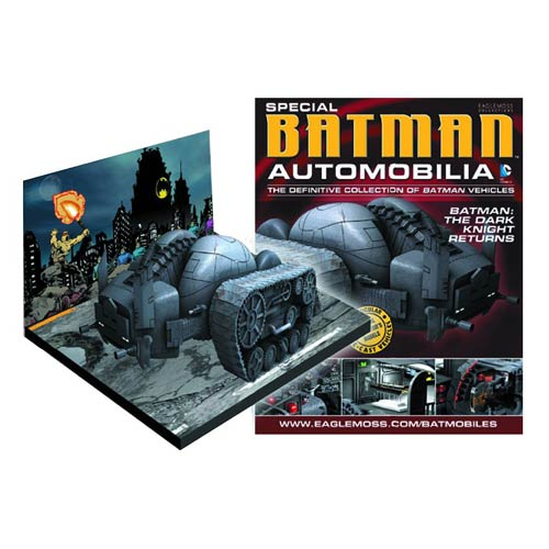 Batman Dark Knight Returns Tank Vehicle with Collector Mag.