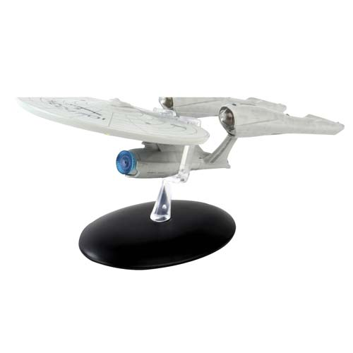 Star Trek Starships 2009 Movie Enterprise Ship with Magazine