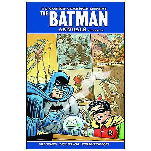 Batman The Annuals Hardcover Graphic Novel