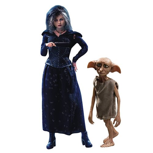 Harry Potter and the Dealthy Hallows Bellatrix with Dobby Version 1:8 Scale Action Figure