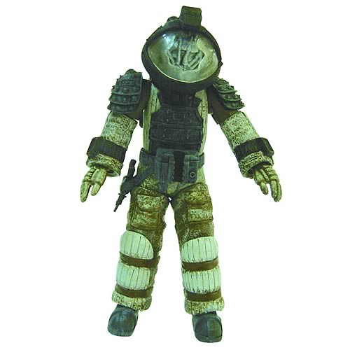 ALIEN Nostromo Astronaut Facehugged Figure Kit