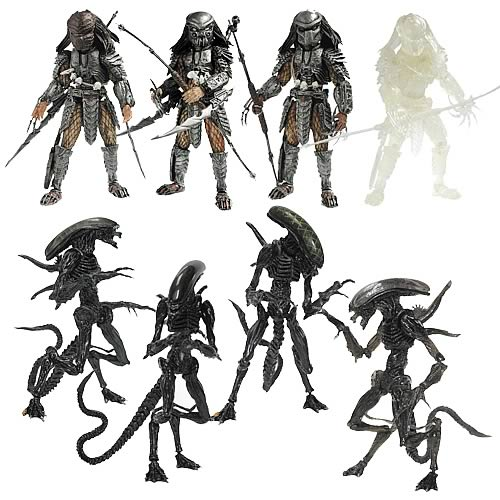Alien vs. Predator Snap Kits Keychains