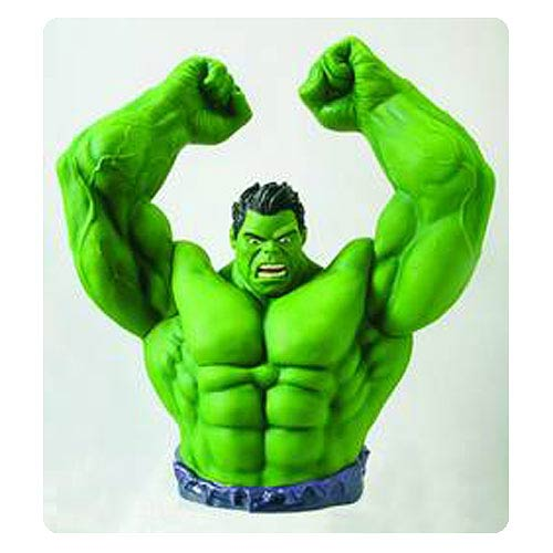 Previews Exclusive Hulk Bust Bank