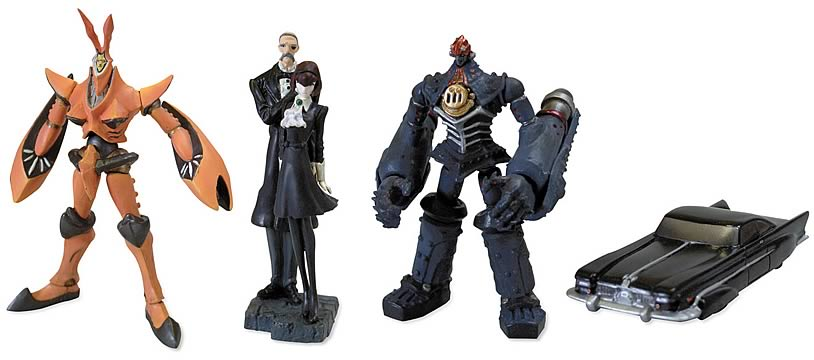 Big O Mini Figure Set A