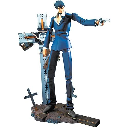 Trigun Nicholas D. Wolfwood Action Figure