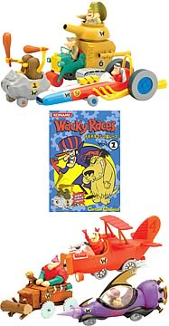 Wacky Races Trading Figures Series 1 Case