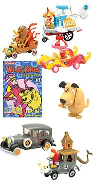 Wacky Races Trading Figures Series 2 Case